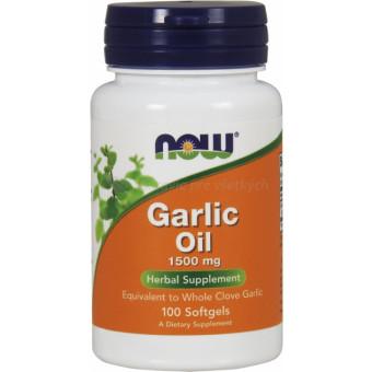 Cesnakový olej 500 mg