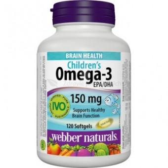 Omega-3 pre deti s pomarančovou príchuťou