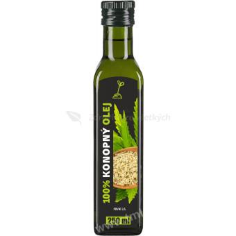 Konopný olej 100 % - 250 ml
