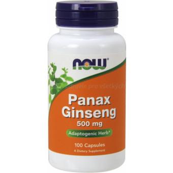 Ženšen panax 520 mg